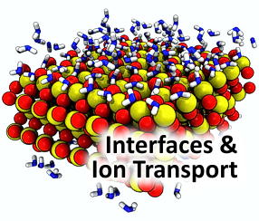 Interfaces and Ion Transport